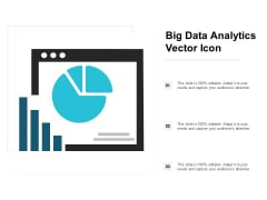 Big Data Analytics Vector Icon Ppt PowerPoint Presentation Layouts Show