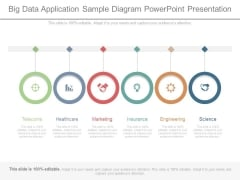 Big Data Application Sample Diagram Powerpoint Presentation