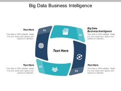 Big Data Business Intelligence Ppt PowerPoint Presentation Visual Aids Deck Cpb