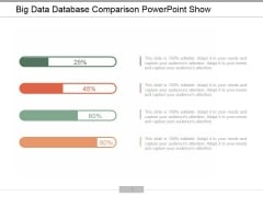 Big Data Database Comparison Ppt PowerPoint Presentation Outline