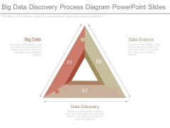 Big Data Discovery Process Diagram Powerpoint Slides