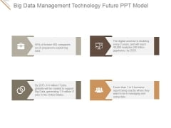 Big Data Management Technology Future Ppt PowerPoint Presentation Guidelines