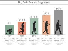 Big Data Market Segments Ppt PowerPoint Presentation Backgrounds