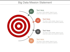 Big Data Mission Statement Ppt PowerPoint Presentation Layouts