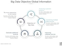 Big Data Objective Global Information Ppt PowerPoint Presentation Inspiration