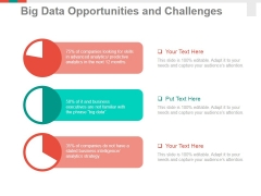 Big Data Opportunities And Challenges Template 1 Ppt PowerPoint Presentation Infographic Template Summary
