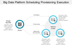 Big Data Platform Scheduling Provisioning Execution Ppt Powerpoint Presentation Professional File Formats