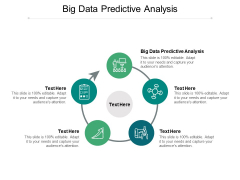 Big Data Predictive Analysis Ppt PowerPoint Presentation Sample Cpb