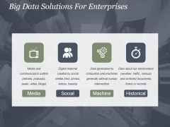 Big Data Solutions For Enterprises Ppt PowerPoint Presentation Layouts