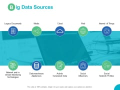 Big Data Sources Data Warehouse Ppt PowerPoint Presentation Ideas Pictures