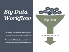 Big Data Workflow Automation Funnel Ppt PowerPoint Presentation Icon