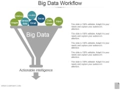 Big Data Workflow Ppt PowerPoint Presentation Gallery