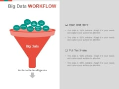 Big Data Workflow Ppt PowerPoint Presentation Show