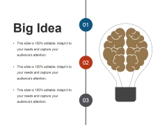Big Idea Ppt PowerPoint Presentation Pictures Rules
