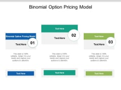 Binomial Option Pricing Model Ppt PowerPoint Presentation Introduction Cpb