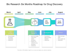 Bio Research Six Months Roadmap For Drug Discovery Sample