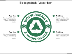 Biodegradable Vector Icon Ppt PowerPoint Presentation Summary Template