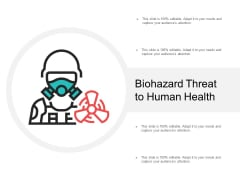 Biohazard Threat To Human Health Ppt Powerpoint Presentation Infographic Template Designs