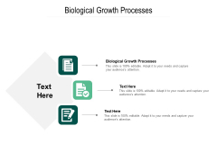 Biological Growth Processes Ppt PowerPoint Presentation Gallery Graphics Tutorials Cpb Pdf