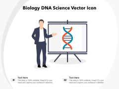 Biology DNA Science Vector Icon Ppt PowerPoint Presentation File Designs Download PDF