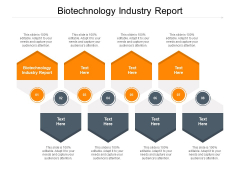 Biotechnology Industry Report Ppt PowerPoint Presentation Infographics Graphics Tutorials Cpb Pdf