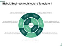 Bizbok Business Architecture Template 1 Ppt PowerPoint Presentation Ideas Design Inspiration