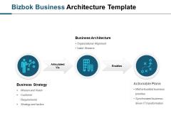 Bizbok Business Architecture Template Ppt PowerPoint Presentation Slides Summary