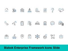 Bizbok Enterprise Framework Icons Slide Opportunity Ppt PowerPoint Presentation Infographics Format Ideas