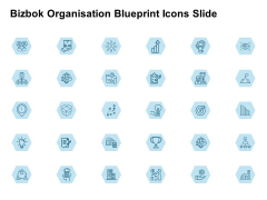 Bizbok Organisation Blueprint Icons Slide Location Ppt PowerPoint Presentation Model Example