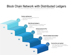 Block Chain Network With Distributed Ledgers Ppt PowerPoint Presentation File Layouts PDF