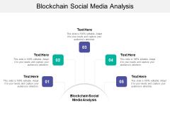 Blockchain Social Media Analysis Ppt PowerPoint Presentation Layouts Format Cpb