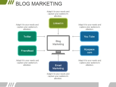 Blog Marketing Ppt PowerPoint Presentation Inspiration Graphic Tips