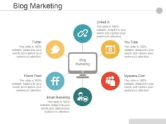 Blog Marketing Ppt PowerPoint Presentation Portfolio Objects