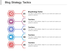 Blog Strategy Tactics Ppt PowerPoint Presentation Styles Professional Cpb Pdf