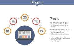 Blogging Ppt PowerPoint Presentation Ideas Guide