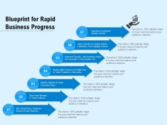 Blueprint For Rapid Business Progress Ppt PowerPoint Presentation Gallery Guidelines PDF