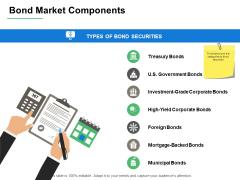Bond Market Components Planning Ppt PowerPoint Presentation Show Files