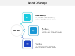 Bond Offerings Ppt PowerPoint Presentation Professional Tips Cpb Pdf