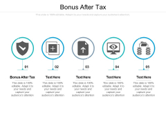Bonus After Tax Ppt PowerPoint Presentation Show Cpb Pdf