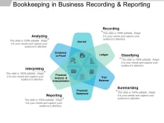 Bookkeeping In Business Recording And Reporting Ppt PowerPoint Presentation Model Ideas