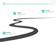Bookkeeping Roadmap For Accounting Services Proposal Template Ppt PowerPoint Presentation Inspiration Design Ideas PDF