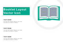 Booklet Layout Vector Icon Ppt PowerPoint Presentation Slides Themes