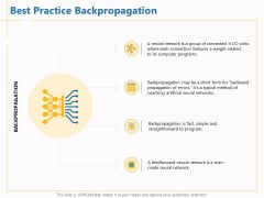 Boosting Machine Learning Best Practice Backpropagation Ppt PowerPoint Presentation Inspiration Demonstration PDF