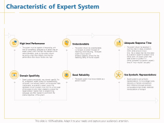 Boosting Machine Learning Characteristic Of Expert System Ppt PowerPoint Presentation Inspiration Portfolio PDF