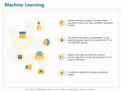 Boosting Machine Learning Machine Learning Ppt PowerPoint Presentation Inspiration Skills PDF