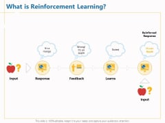 Boosting Machine Learning What Is Reinforcement Learning Ppt PowerPoint Presentation Model Samples PDF