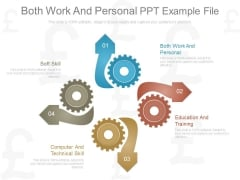 Both Work And Personal Ppt Example File