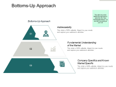 Bottoms Up Approach Ppt PowerPoint Presentation Outline Example