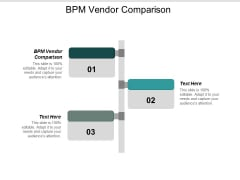 Bpm Vendor Comparison Ppt Powerpoint Presentation Professional Microsoft Cpb