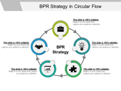 Bpr Strategy In Circular Flow Ppt PowerPoint Presentation Pictures Display